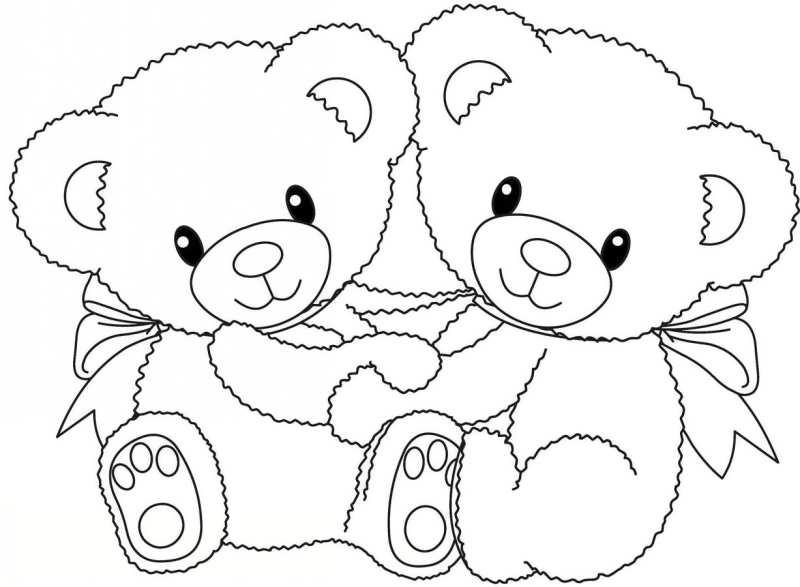 الگوی نمدی خرس ولنتاین