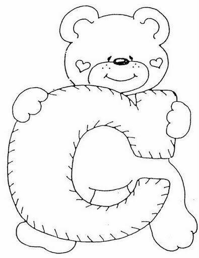 الگوی نمدی خرس ایستاده