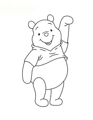 الگوی خرس پو نمدی